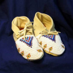 Indian Moccasins - Fully beaded Plains