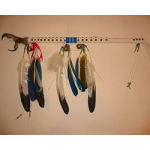 Simulated  Eagle Foot Dance Stick