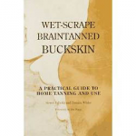 Wet Scraped Braintanned Buckskin