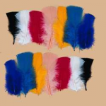 Dyed T-Base Feathers