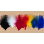 "Feather Fluffs, Small (2"" - 3"") (Tip Plumes)"