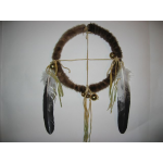 Fur Wrapped Four Winds Medicine Wheel