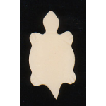Genuine Bone Turtle Pendant