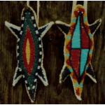 Beaded Reptile Amulets Large